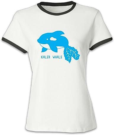 Whale Store112 Ballena store112 Niñas Round-Neck marca nueva ballena T Shirt alta calidad: Amazon.es: Ropa y accesorios