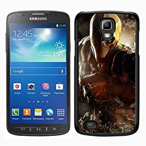 Batman Arkham Origins Deathstroke Warner Bros Games Montreal Dc Comics Arkham Origins Video Games Black New Customized Samsung Galaxy S4 Active i9295 Phone Case