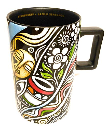Limited Edition Ceramic - STARBUCKS + LAOLU SENBANJO Limited Edition Ceramic Coffee Mug, 12 Oz