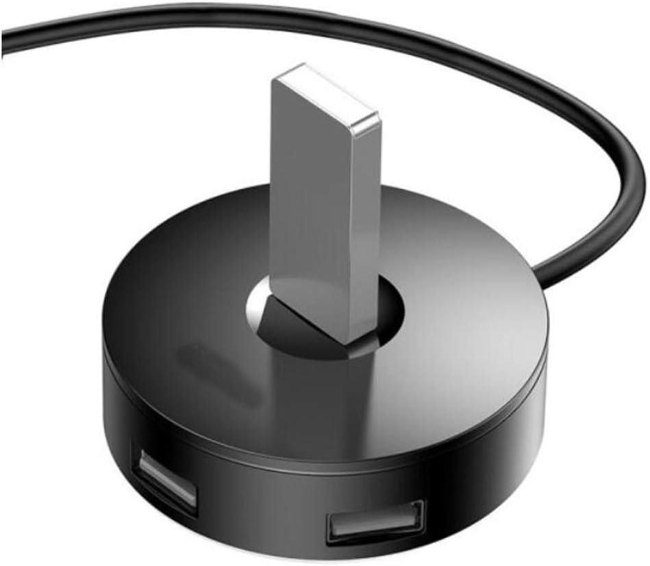 Yougou Hub Color : Black Usb3.0 Splitter Multi-Interface One Drag Four Hub Converter, Solid Black 1 Meter