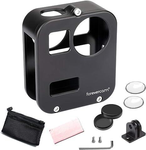Forevercam Aluminium Schutzhülle Kompatibel Für Gopro Max Gopro Max 360 Zubehör Mit Objektivschutz Sport Freizeit