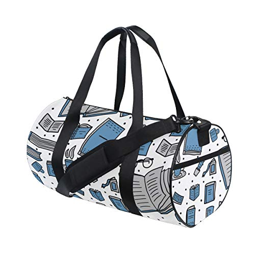 - Tote Bags Portable Dictionary Book Knownledge Day Duffel Lightweight Weekend Duffel Bags For Women Boy Knapsack Outdoor Trip Badminton School Bag