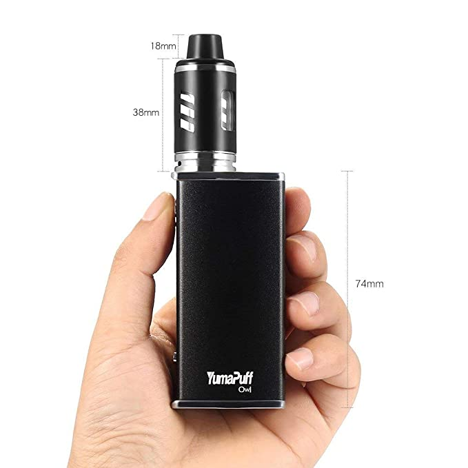 Cigarrillo Electrónico, 80W Yumapuff Owl Kit, OLED 12w-80w, 2600mAh cigarros electronico, Atomizadores Arctic 0.3ohm, Batería Box Mod cigarros, Sin Nicotina ...