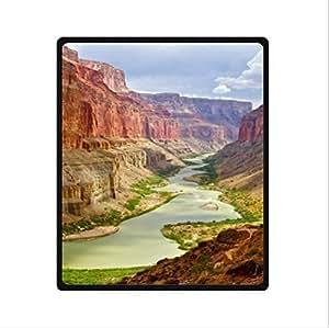 Beautiful Grand Canyon Scenery Design Arizona Custom Fleece Blanket 50 x 60 (Medium)