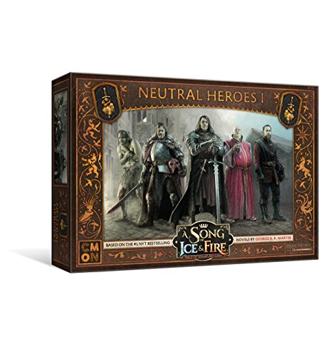 CMON  A Song of Ice & Fire: Tabletop Miniatures Game Neutral Heroes #1