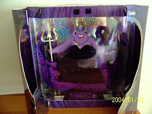 Villains Great Collection - Barbie Disney The Little Mermaid SEA Witch Ursula Doll - Limited Edition Great Villa...