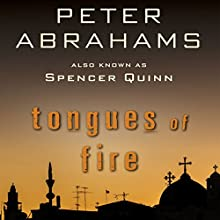 Tongues of Fire Audiobook by Peter Abrahams Narrated by P. J. Ochlan
