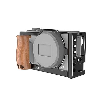 Linghuang Jaula de Camara de Aleación de Aluminio para Canon G7X ...