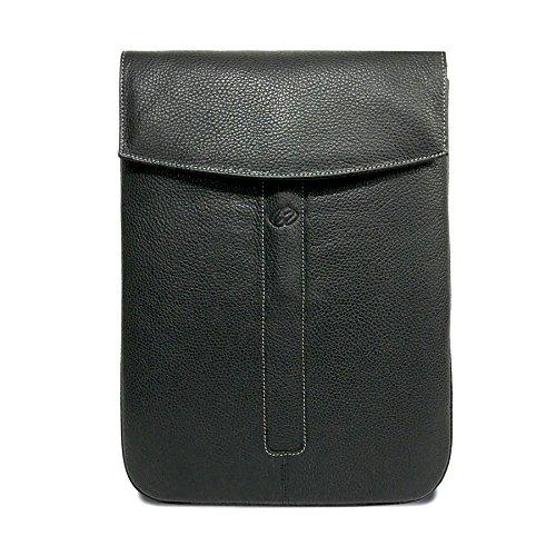MacCase Premium Leather iPad Pro 12.9 Sleeve (Black)