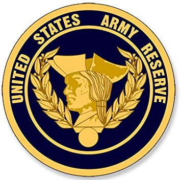 US Army Reserves Seal Insignia Patch Vinyl Graphics Decal Sticker Car Window