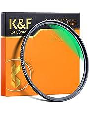 K&F Concept 58mm UV Lens Filter - HD MCUV Scratch-Resistant Ultraviolet Protection Filters for DSLR Camera Lens Nanotech Coatings