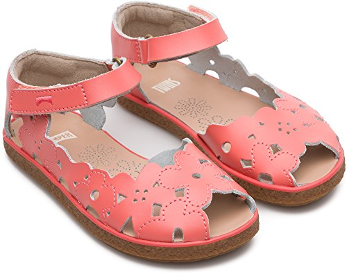 Camper TWS Kids, Sandalia con Pulsera Para Niñas Rosa (Medium Pink 660)