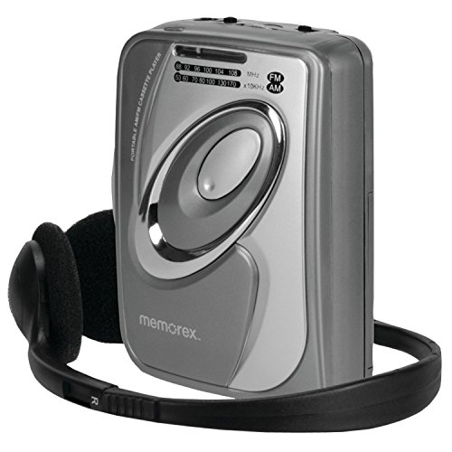 Memorex MD2280 Personal AM/FM Cassette Tape Player with Headphone (Certified Refurbished)