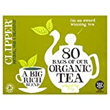 Clipper Teas - Everydays - Organic Tea - 80 Bags (Case of 6)