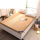 HYXL Tatami folding floor mattress Mat,Japanese futon mattress Futon tatami mat With chemical-free anti-mite fabric For home dorm-G 120x200cm(47x79inch)