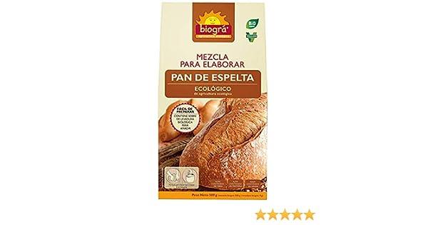 Biográ Mezcla Para Hacer Pan De Espelta 510G Biogra Bio Biográ 200 g: Amazon.es: Alimentación y bebidas