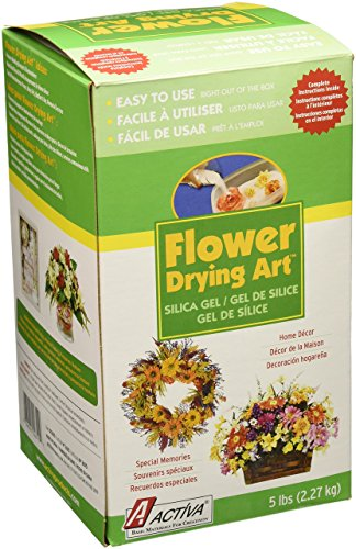 ACTIVA Silica Gel for Flower Drying 5 Pound by Activa