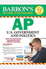 Barron's AP U.S. Government and Politics with CD-ROM, 10th Edition Paperback