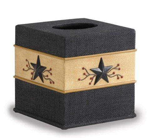 - Park Designs Star Vine Tissue Box Cover