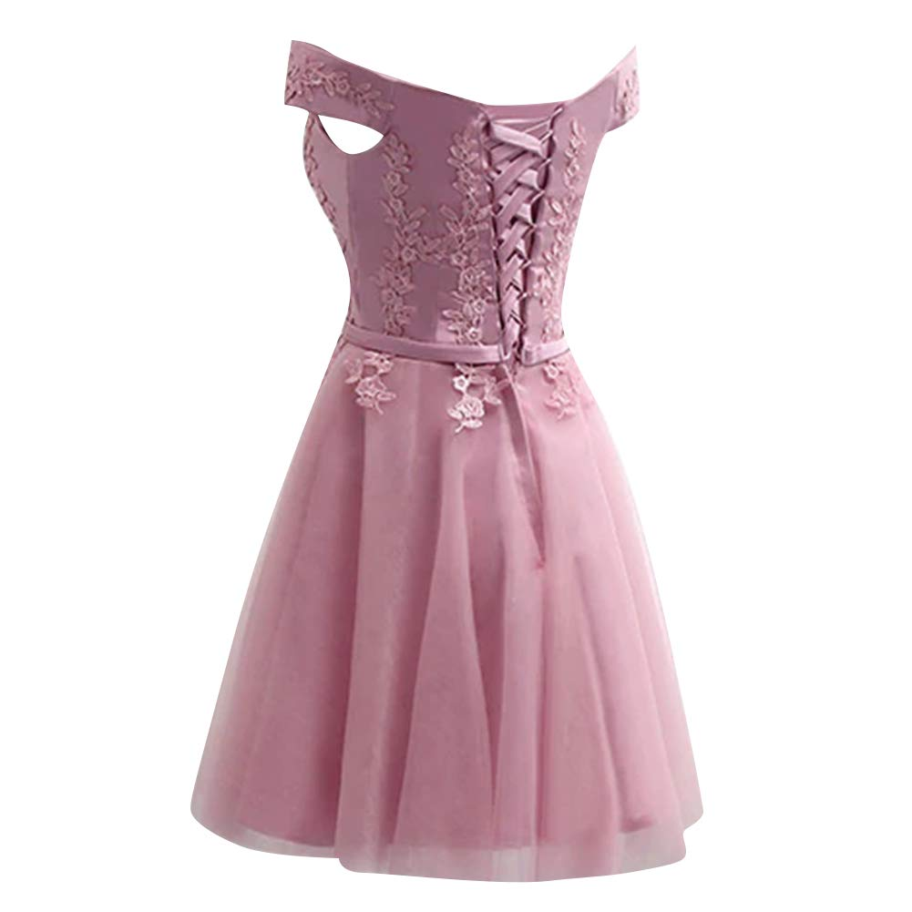 H.S.D Bridesmaid Dresses Off Shoulder Formal Evening Party Dress Appliques Prom Dress