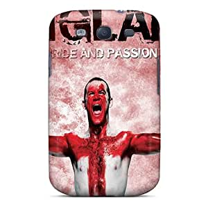New GJF16059aNDC England Tpu Cover Case For Galaxy S3