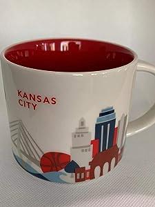 """Starbucks Mug""""You Are Here Collection"""" - Kansas City"""