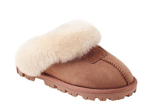 OZwear UGG Zapatillas de casa Casuales de algodón Unisex: Amazon.es: Zapatos y complementos