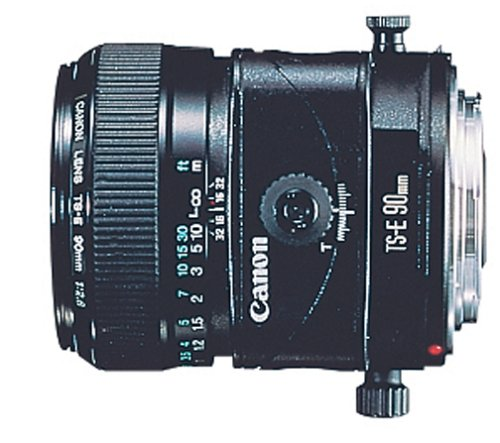 Camera Owners Canon Manual (Canon TS-E 90mm f/2.8 Tilt Shift Lens for Canon SLR Cameras)