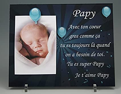 Cadre Photo Aimant Pour Papy Cadeaux Originaux Pour Papi Et Mamie Fête Des Grands Pères Anniversaire Noël