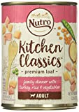 Nutro 50411567 Tender Turkey & Rice Recipe Can Senior Dog Food, 12 Ea/12.5Oz