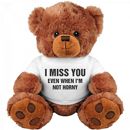 Funny Valentine's Day Gift Bear: Medium Teddy Bear Stuffed Animal (Valentine Day Gifts For Her)
