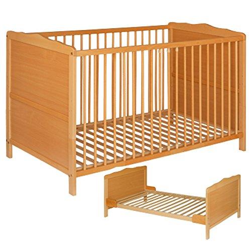 Best For Kids NELLY 2 in 1 GITTERBETT KINDERBETT JUNIORBETT BETT TODDLER BED 140x70 + GRATIS