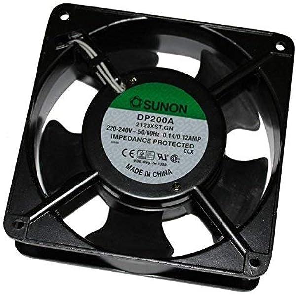 Sunon DP200A2123XST - Ventilador (120x120x38mm, CA 230V, 2700 U ...