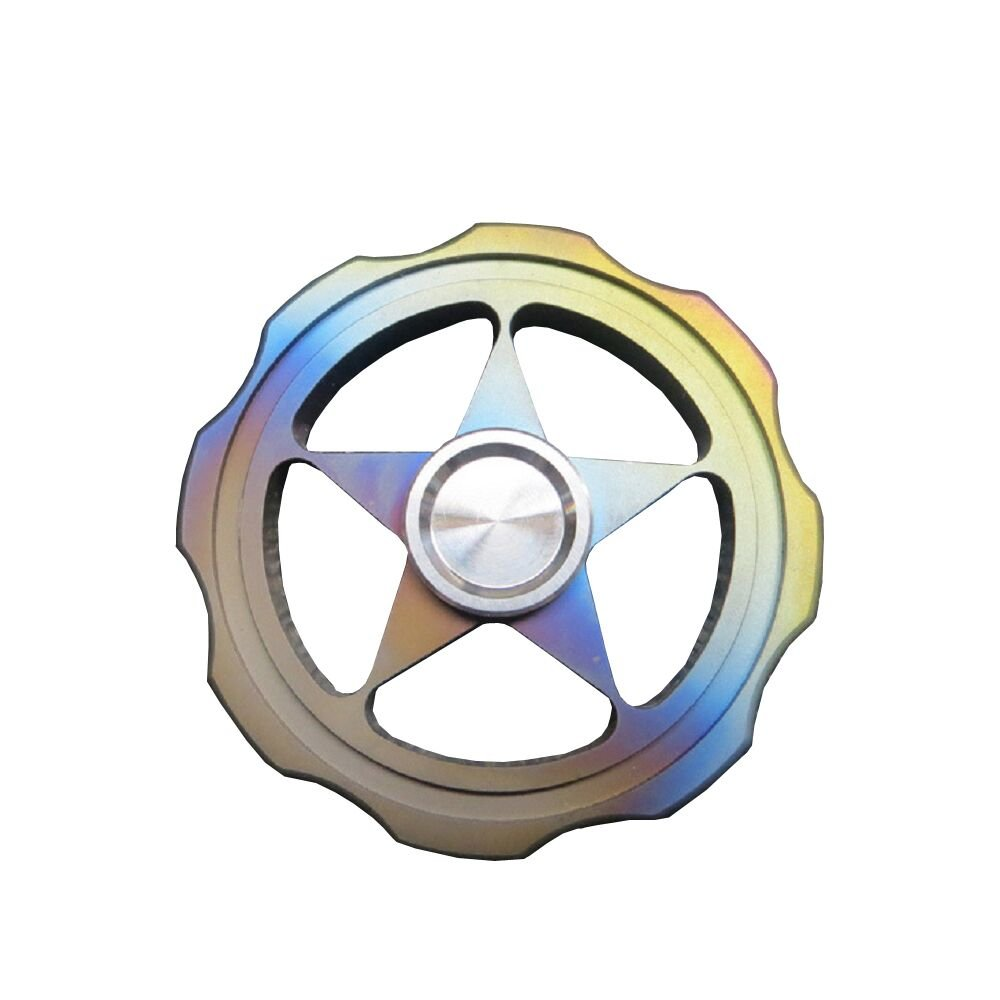 durable service Fidget Hand Spinner Sunvy 4 Winged Brass Hand Fidget Spinner Toy EDC Luxury Helps You Focus And Reduce Stress