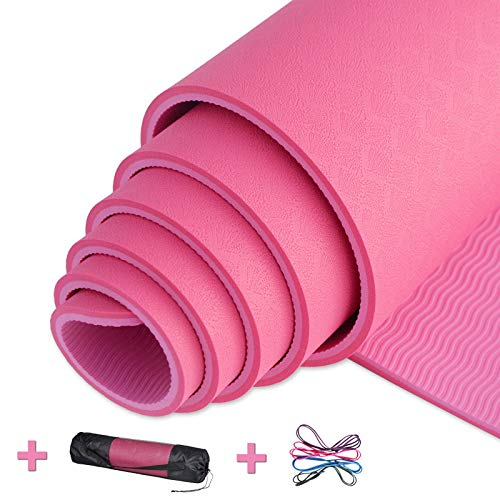 LXMBox Esterilla de Yoga Antideslizante Estera de Yoga Eco ...