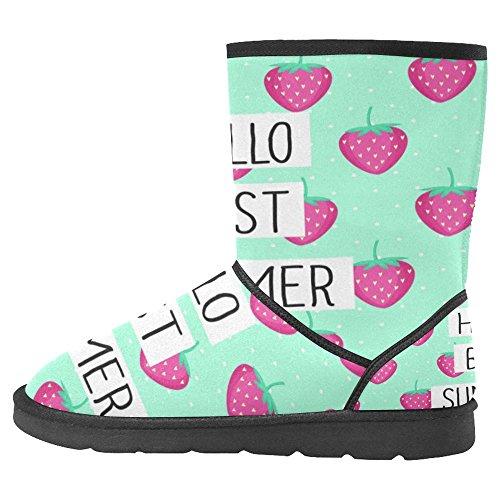 Boots Snow Multi Unique 6 Winter Designed Womens Boots InterestPrint Comfort FZwRB0q
