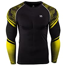 Zipravs MMA Compression Tight Shirt Longsleeve Running Baselayer