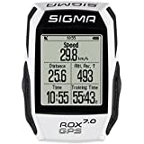 Sigma Sport 7.0 ROX GPS Device, Black/White