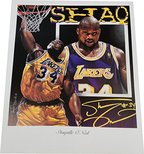 - Shaq Shaquille O'Neal 18x24 Poster Photo Unsigned LA Lakers Miami Heat Celtics