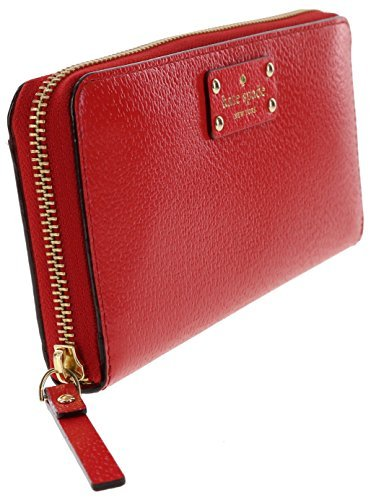 Kate Spade Wellesley Neda Zip Around Wallet (Pebble/Black)