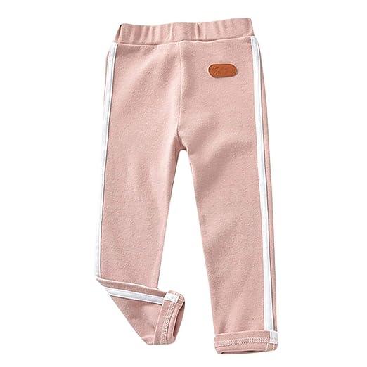 a786dc5edf8e Amazon.com  Keliay Toddler Kids Baby Girl Boy Casual Elastic Striped ...