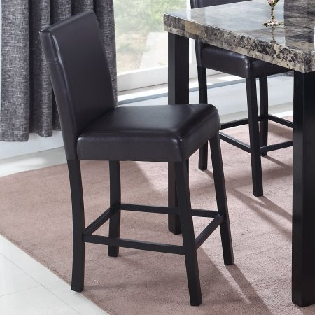 Best Master Furniture CD037 Britney 24 in. Counter Stool, Set of 2, Espresso