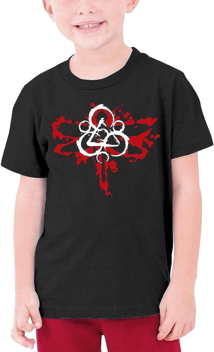 HAPPYHAPPYHAPPY Coheed and Cambria Boys Girls Short Sleeve T-Shirt Black