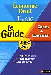 Droit Term STG : Cours + Exercices