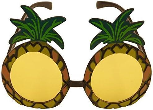 1 x gafas de sol piña hawaiana Hula accesorio para disfraz: Amazon ...