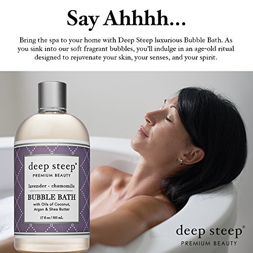 Deep Steep Bubble Bath, Lavender Chamomile, 17 Ounces by Deep Steep (Image #2)