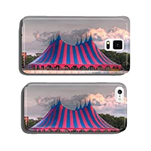 big top festival tent in red blue green cell phone cover case iPhone5