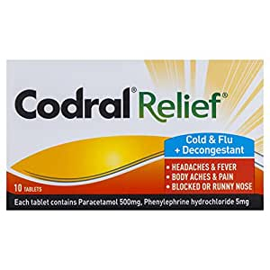 Codral Relief Cold & Flu Tablets 10
