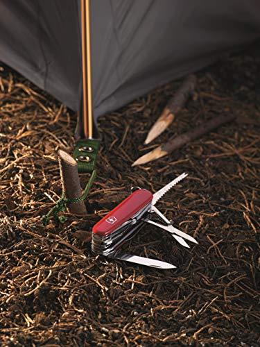 Victorinox Swiss Army Multi-Tool, SwissChamp Pocket Knife, Red