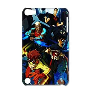 3D Print Hot Robin comics & Batman Background Case Cover for IPod Touch 5- Personalized Hard Back Protective Case Shell-Perfect as gift